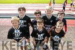 Enjoying the Community Games  at An Riocht Castleisland  on Saturday were Listowel Team Seamus Lyons, Sean Carmody, Barry O'Leary, David Duggan, Murray O'Connell, Moss Carmody and Shane Costello