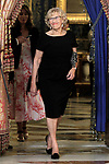 Mayor of the Madrid city Manuela Carmena during the reception of King Felipe VI of Spain at the Royal Palace in honor of the President of the French Republic Emmanuel Macron. July 26,2018. (ALTERPHOTOS/Acero)