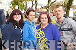 Sinead O'Carroll (Kilgarvan, Ballylongford) Claire O'Shea (Abbeyfeale) Bridget McCarthy (Duagh) and Martin O'Sullivan (Athea) pictured at the Mental Wellness Exhibition on Monday last.