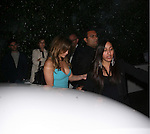 AbilityFilms@yahoo.com.805-427-3519.www.AbilityFilms.com...April 6th 2012...Jennifer Lopez wearing a tight aqua blue dress showing off cleavage with  boyfriend Casper Smart dine at Cicconi's in West Hollywood...............