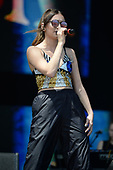 FORT LAUDERDALE FL - APRIL 08: Daya performs during the Tortuga Music Festival held at Fort Lauderdale Beach on April 08, 2017 in Fort Lauderdale, Florida. : Credit Larry Marano © 2017