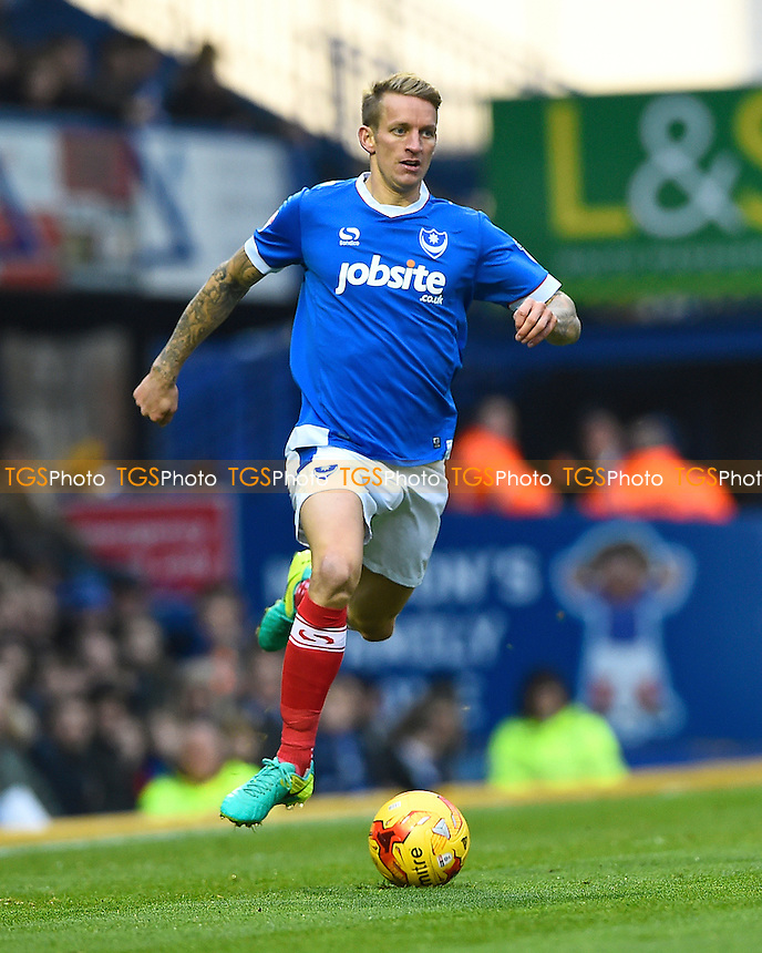 Carl Baker of Portsmouth during Portsmouth vs Stevenage, Sky Bet EFL League 2 Football at Fratton Park on 26th November 2016