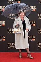 Imelda Staunton<br /> arriving for the Olivier Awards 2018 at the Royal Albert Hall, London<br /> <br /> ©Ash Knotek  D3392  08/04/2018