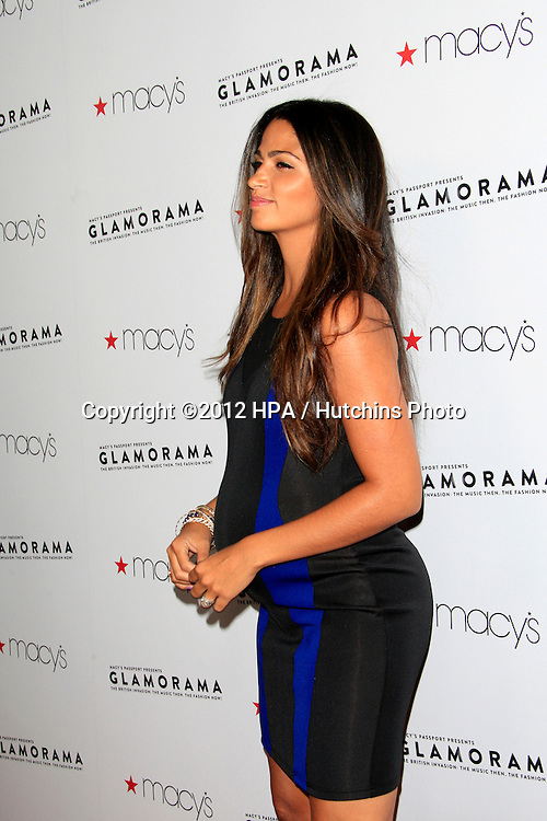 LOS ANGELES - SEP 7:  Camila Alves McConaughey arrives at the Macy's Passport 30th Glamorama at Orpheum Theater on September 7, 2012 in Los Angeles, CA