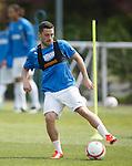 Nicky Clark on the ball