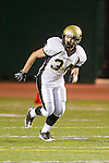 Torrance, CA 10/06/11 - Andrew Jessop (Peninsula #34) in action during the Peninsula vs South Varsity football game.