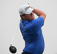 George Coetzee (RSA) tees off the 2nd tee during Thursday's Round 1 of the 2014 BMW Masters held at Lake Malaren, Shanghai, China 30th October 2014.<br /> Picture: Eoin Clarke www.golffile.ie