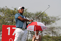 Chapchai Nirat (THA)during Round 3 of the 2013 Avantha Masters, Jaypee Greens Golf Club, Greater Noida, Delhi, 16/3/13..(Photo Jenny Matthews/www.golffile.ie)