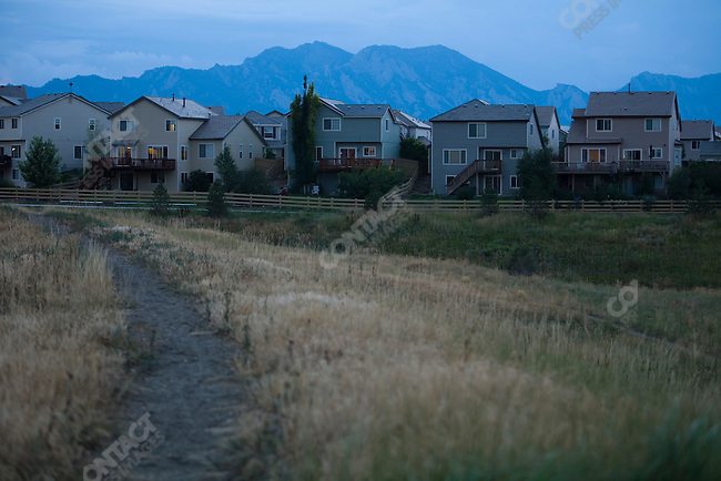 The Rock Creek development. Broomfield, Colorado, July 28, 2007.