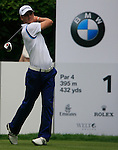 Martin Kaymer (GER) tees off on the 1st tee to start his round during of Day 3 of the BMW International Open at Golf Club Munchen Eichenried, Germany, 25th June 2011 (Photo Eoin Clarke/www.golffile.ie)