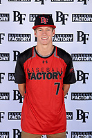 Charles Summers (7) of Providence Academy in Bentonville, Arkansas during the Baseball Factory All-America Pre-Season Tournament, powered by Under Armour, on January 12, 2018 at Sloan Park Complex in Mesa, Arizona.  (Mike Janes/Four Seam Images)