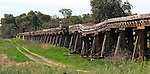 Past its useby date - Old Narrandera RailBridge to Jerilderie