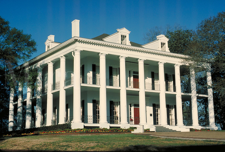 Dunleith Mansion antebellum home in Natchez, Mississippi. Natchez Mississippi United States.