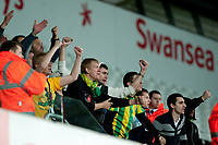 Thursday 24 October 2013  <br /> Pictured:  Kuban Krasnodar fans<br /> Re:UEFA Europa League, Swansea City FC vs Kuban Krasnodar,  at the Liberty Staduim Swansea