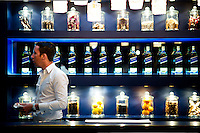 Johnnie Walker Blue Label event at 'The Space' Gallery on Hollywood Road in Hong Kong. Photo © Mike Pickles / studioEAST