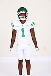SEPTEMBER 14: University of North Texas Mean Green Football marketing photos for the 2020/2021 season on September 14, 2020