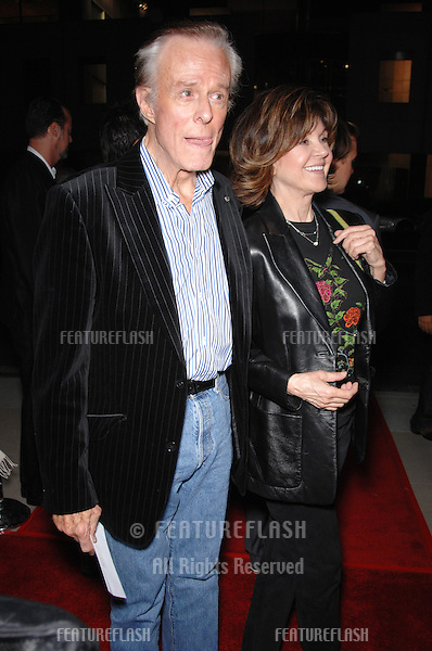 "Actor ROBERT CULP & date at the Los Angeles premiere of ""The Queen""..October 3, 2006  Los Angeles, CA.Picture: Paul Smith / Featureflash"