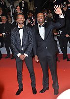 "CANNES, FRANCE. May 24, 2019: Chris Tucker & Destin Christopher Tucker at the Hommage to Sylvester Stallone and screening of ""Rambo: First Blood"" at the Festival de Cannes.<br /> Picture: Paul Smith / Featureflash"