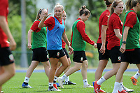 Charlie Estcourt of Wales Women during the Wales Women Training Session at the Cardiff International Sports Stadium in Cardiff, Wales, UK. Monday 03 June 2019