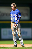 Taylor Black #5 of the Kentucky Wildcats during the game against the Utah Utes at Minute Maid Park on March 6, 2011 in Houston, Texas.  Photo by Brian Westerholt / Four Seam Images
