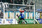 Waldhof bejubelt das 2:2 beim Spiel in der Regionalliga Suedwest, SV Waldhof Mannheim - FC-Astoria Walldorf.<br /> <br /> Foto &copy; PIX-Sportfotos *** Foto ist honorarpflichtig! *** Auf Anfrage in hoeherer Qualitaet/Aufloesung. Belegexemplar erbeten. Veroeffentlichung ausschliesslich fuer journalistisch-publizistische Zwecke. For editorial use only.