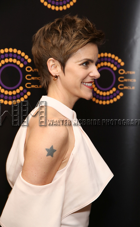 Jenn Colella attends the 67th Annual Outer Critics Circle Theatre Awards at Sardi's on May 25, 2017 in New York City.