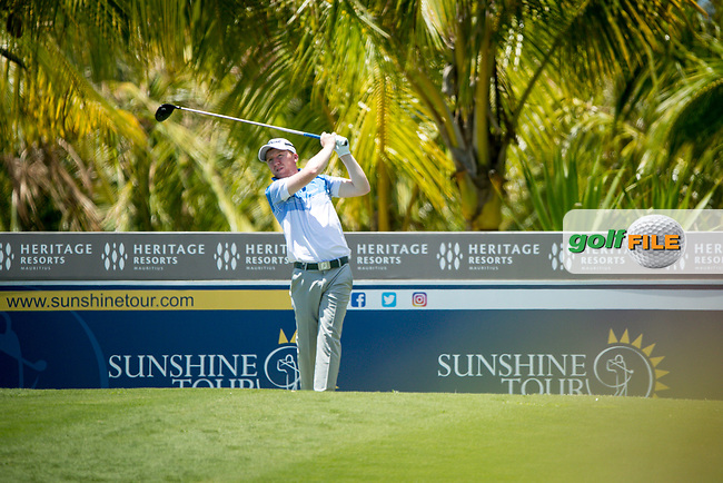 Gavin Moynihan (IRL) during the 1st round of the AfrAsia Bank Mauritius Open, Four Seasons Golf Club Mauritius at Anahita, Beau Champ, Mauritius. 29/11/2018<br /> Picture: Golffile | Mark Sampson<br /> <br /> <br /> All photo usage must carry mandatory copyright credit (© Golffile | Mark Sampson)