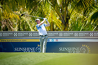 Gavin Moynihan (IRL) during the 1st round of the AfrAsia Bank Mauritius Open, Four Seasons Golf Club Mauritius at Anahita, Beau Champ, Mauritius. 29/11/2018<br /> Picture: Golffile | Mark Sampson<br /> <br /> <br /> All photo usage must carry mandatory copyright credit (&copy; Golffile | Mark Sampson)