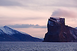Baffin Island in the evening light. Cape Farewell Youth Expedition 08(©Robert vanWaarden ALL RIGHTS RESERVED)