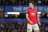 Harry Maguire of Manchester United during Chelsea vs Manchester United, Premier League Football at Stamford Bridge on 17th February 2020