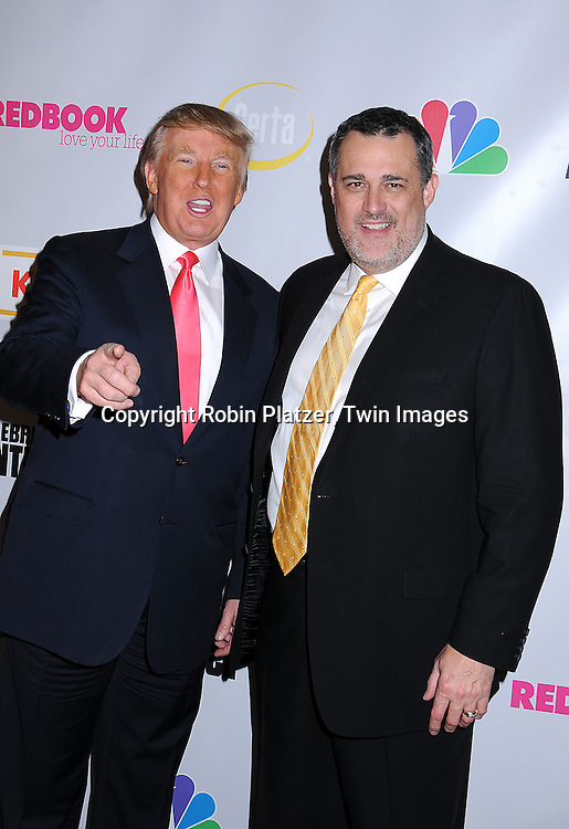 "Donald Trump and Jeffrey W Hayzlett, of Kodak.at ""The Celebrity Apprentice"" after party for the March 27th, 2008 Finale sponsored by Vera Wang by Serta, Redbook and Kodak at The Rock Center Cafe in Rockefeller Center in New York City...Robin Platzer, Twin Images"