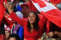 Action from the 2017 Rugby League World Cup match between Toa Samoa and Mate Ma'a Tonga at FMG Stadium in Hamilton, New Zealand on Saturday, 4 November 2017. Photo: Dave Lintott / lintottphoto.co.nz