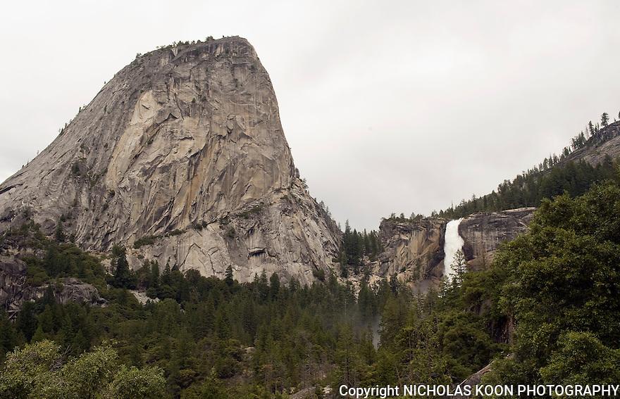 Liberty Cap and Nevada Falls, Yosemite - 2011