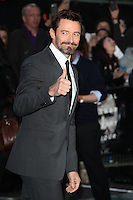 Hugh Jackman arriving for the UK Premiere or Noah, at Odeon Leicester Square, London. 31/03/2014 Picture by: Alexandra Glen / Featureflash