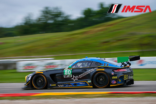 IMSA WeatherTech SportsCar Championship<br /> Continental Tire Road Race Showcase<br /> Road America, Elkhart Lake, WI USA<br /> Friday 4 August 2017<br /> 80, Mercedes, Mercedes AMG GT3, GTD, Dan Knox, Mike Skeen<br /> World Copyright: Jake Galstad<br /> LAT Images