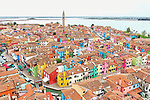Colourful town of Burano by Magali Chesnel