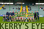 The Kerry Team at the Allianz Hurling League Kerry Vs Derry at Austin Stack Park on Sunday