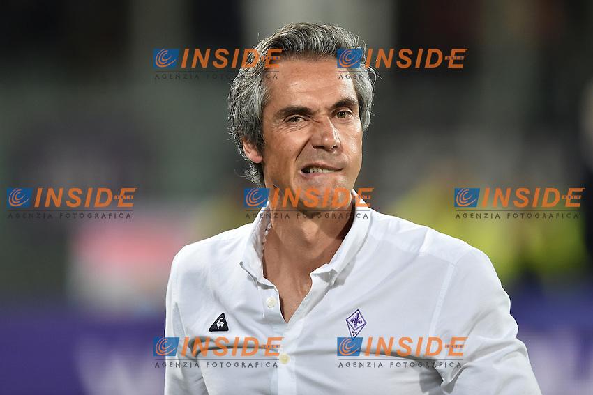 Paulo Sousa Fiorentina <br /> Firenze 25-09-2016  Stadio Artemio Franchi <br /> Campionato Serie A Fiorentina - Milan <br /> Foto Andrea Staccioli / Insidefoto