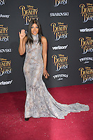 Toni Braxton at the premiere for Disney's &quot;Beauty and the Beast&quot; at El Capitan Theatre, Hollywood. Los Angeles, USA 02 March  2017<br /> Picture: Paul Smith/Featureflash/SilverHub 0208 004 5359 sales@silverhubmedia.com