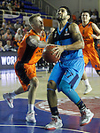 Montakit Fuenlabrada's Luka Rupnik (l) and Alba Berlin's Peyton Siva during Eurocup, Regular Season, Round 6 match. November 16, 2016. (ALTERPHOTOS/Acero)