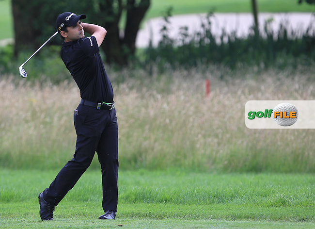 Fabrizio Zanotti (PAR) on the 18th fairway during the Round 2 of the 2016 BMW International Open at the Golf Club Gut Laerchenhof in Pulheim, Germany on Friday 24/06/16.<br /> Picture: Golffile | Thos Caffrey