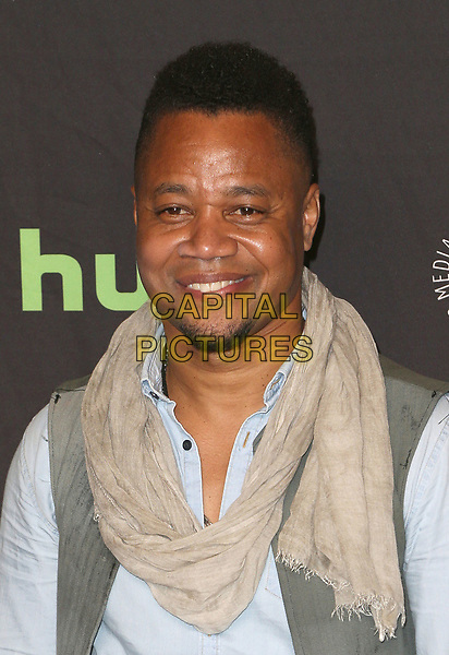 26 March 2017 - Hollywood, California - Cuba Gooding Jr.. The Paley Center For Media's 34th Annual PaleyFest Los Angeles - &quot;American Horror Story: Roanoke&quot;  held at the Dolby Theatre. <br /> CAP/ADM<br /> &copy;ADM/Capital Pictures