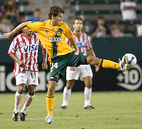 LA Galaxy Mid Nathan Sturgis. Necaxa defeated LA Galaxy 1-0 in an International friendly match at The Home Depot Center in Carson, California, Wednesday July 12, 2006.