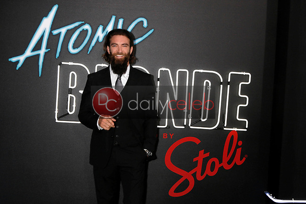 """Sam Hargrave<br /> at the """"Atomic  Blonde"""" Premiere, Theater at the Ace Hotel, Los Angeles, CA 07-24-17<br /> David Edwards/DailyCeleb.com 818-249-4998"""
