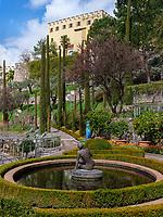 Schloss Trauttmansdorff mit G&auml;rten, Meran-Merano, Provinz Bozen-S&uuml;dtirol, Italien<br /> Castle Trauttmansdorff with gardens, Meran-Merano, province Bozen-South Tyrol, Italy
