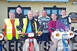 Revving up at the Honda Easter run in aid of Leukaemia which started in Killarney on Sunday front row l-r: Danny O'Connor Castleisland, Neil Breen Ballymac, Noel Brosnan Killarney, Tim McAulliffe Knocknagoshel, Tom Hurley Killarney, Jim Griffin Castleisland and Adam Hurley Killarney