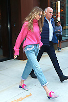 NEW YORK, NY - SEPTEMBER 11: Gigi Hadid seen on September 11, 2017 in New York City. <br /> CAP/MPI/DC<br /> &copy;DC/MPI/Capital Pictures