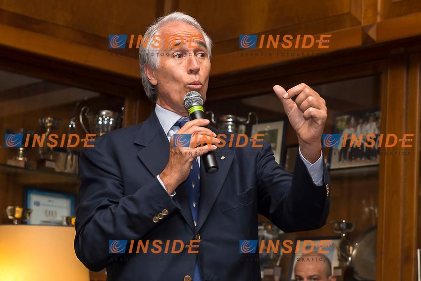 Giovanni Malago' <br /> Roma 30-05-2017 Circolo Canottieri Aniene <br /> Premi Ussi 2017 Foto Andrea Staccioli / Insidefoto