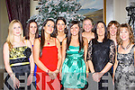 Denise O'Dowd, Linda Murphy, Carol Anne O'Donoghue, Madeline McCarthy, Emma Sugrue, Brenda Burke, Siobhain Meehan, Siobhain Brosnan and Marie Hill Tralee enjoying their Christmas party in the Malton Hotel, Killarney Friday night   Copyright Kerry's Eye 2008