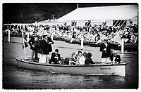 Henley, UNITED KINGDOM. July 1988, Regatta Chairman and umpire , Mike SWEENEY. 1988 Henley Royal Regatta, Henley Reach.© Peter SPURRIER